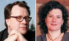 Russell T Davies and Julie Gardner