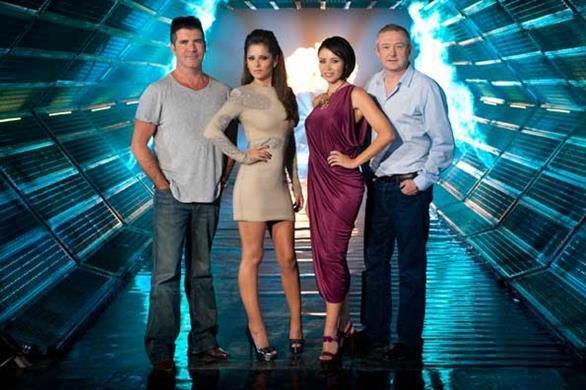 X Factor Judges 2009 Judges promo sh...