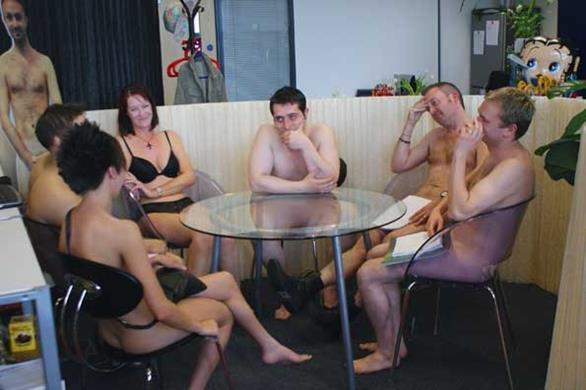 Naked In The Office 23