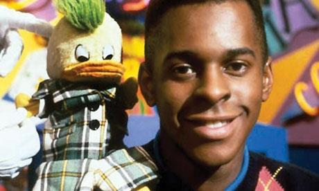 Andi Peters is to front an ITV teatime quiz that ejects contestants from their seats if they get questions incorrectly. - 1189196_andi_peter_duck